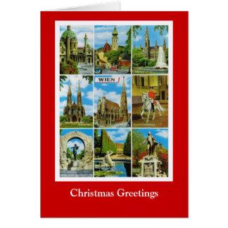 Wishing you a joyous Christmas, Vintage Vienna Card