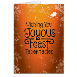 Wishing You A Joyous Feast Greeting Card