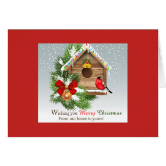 Wishing You A Merry Christmas! Card