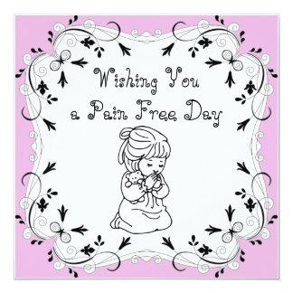 Wishing you a Pain Free Day Card
