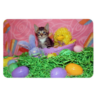Wishing You a Purrfect Easter - Magnet Rectangular Photo Magnet