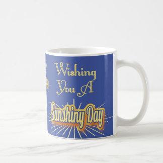 Wishing You A Sunshiny Day Coffee Mug
