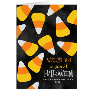 Wishing You A Sweet Halloween Card