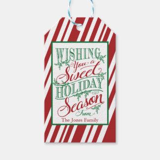 Wishing You a Sweet Holiday Season Gift Tag