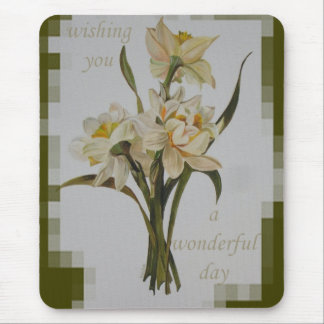 Wishing You A Wonderful Day Mouse Pad