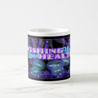 wishing you good health purple tentacles coffee mug
