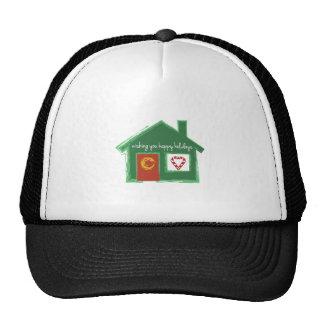 Wishing You Happy Holidays Hat