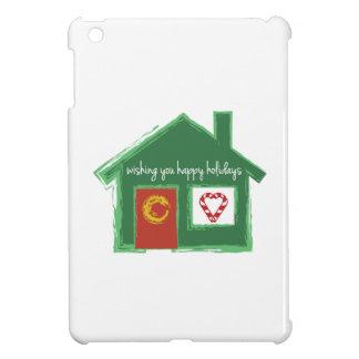 Wishing You Happy Holidays iPad Mini Covers