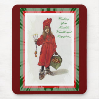 Wishing You Health, Wealth and Happiness Mouse Pad