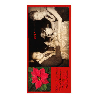 Wishing You Many Merry Christmases Card