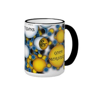 WISHING YOU SWEET DREAMS AND GOOD MORNINGS COFFEE MUG