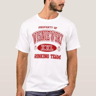 Wisniewski Polish Drinking Team T-Shirt