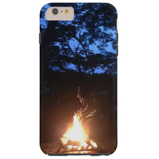 Wispy Fire at Sunset Tough iPhone 6 Plus Case