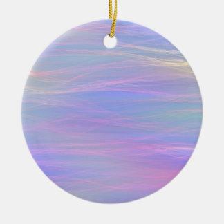 Wispy Rainbow Ornament