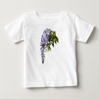 Wisteria and Leaves Baby T-Shirt