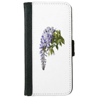 Wisteria and Leaves iPhone 6 Wallet Case