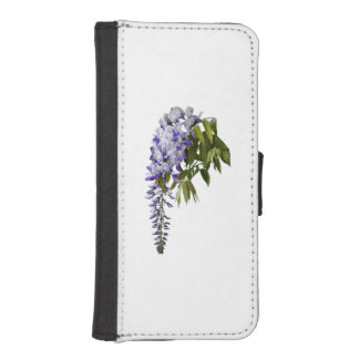 Wisteria and Leaves iPhone SE/5/5s Wallet Case