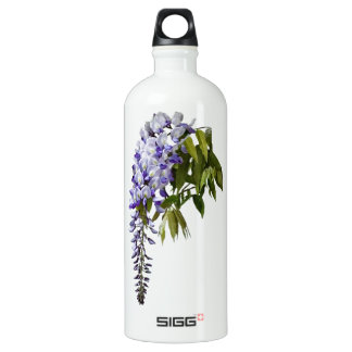 Wisteria and Leaves Water Bottle