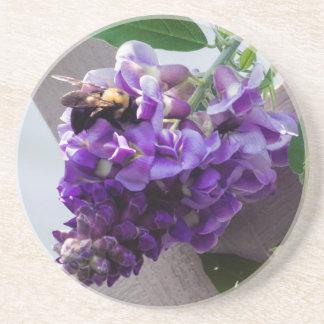 Wisteria & Bee Coaster