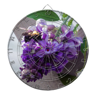 Wisteria & Bee Dartboard