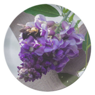 Wisteria & Bee Plate
