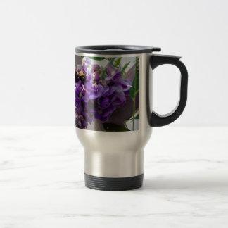 Wisteria & Bee Travel Mug