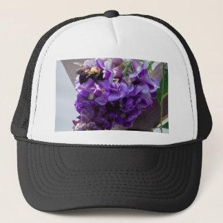 Wisteria & Bee Trucker Hat