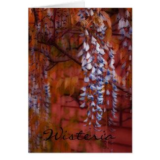 Wisteria Card