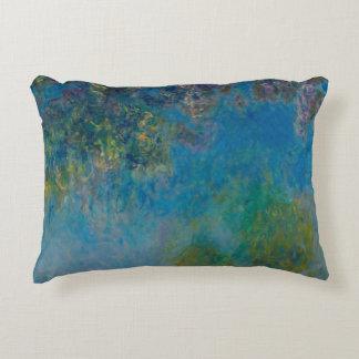 Wisteria Claude Monet Decorative Cushion