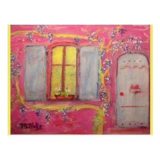 wisteria cottage postcard