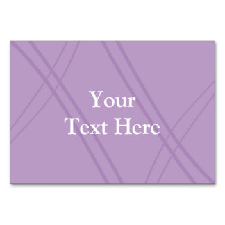 Wisteria Crissed Crossed Card