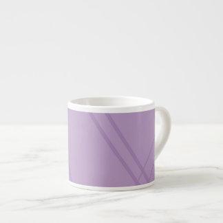 Wisteria Crissed Crossed Espresso Cup