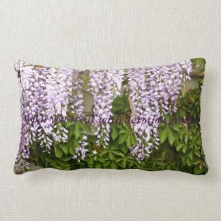 Wisteria Devotion Lumbar Pillow