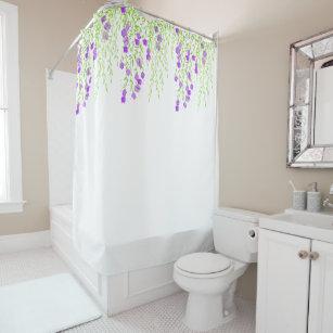 Wisteria Flowering Shower Curtain