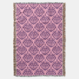 Wisteria Frosted Orchid Damask