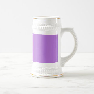 Wisteria Light Medium Violet Background Elegant Mugs