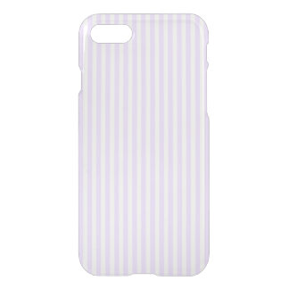 Wisteria Lilac Lavender Orchid & White Stripe iPhone 8/7 Case