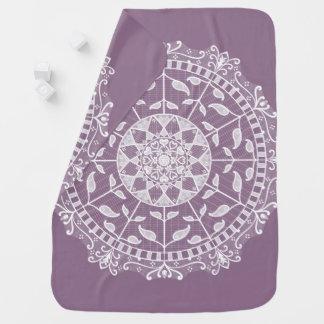 Wisteria Mandala Baby Blanket