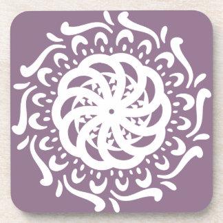 Wisteria Mandala Coaster