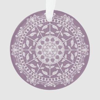 Wisteria Mandala Ornament