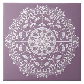 Wisteria Mandala Tile