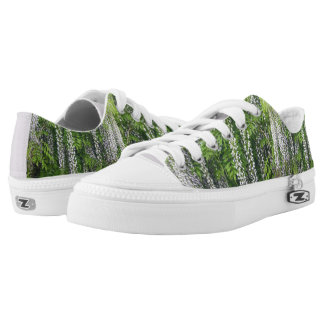 Wisteria Zipz Low Top Shoes Printed Shoes