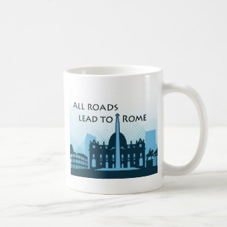 Wistful view of Ancient Rome Coffee Mug