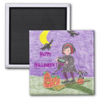 Witch 3, Happy Halloween ! Fridge Magnets