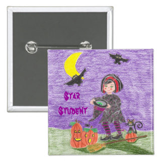 Witch 3, Star Student 15 Cm Square Badge