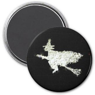 Witch 7.5 Cm Round Magnet