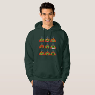 witch All Emoji Halloween Hoodie