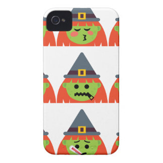 witch All Emoji Halloween iPhone 4 Cover