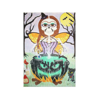 Witch Amber Canvas Print