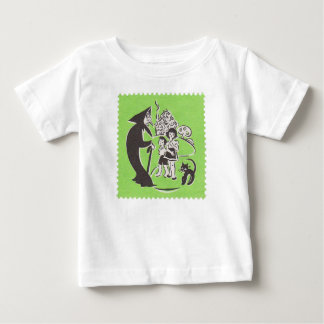 Witch and Cat Baby T-Shirt